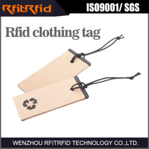 UHF/ 860-960MHz Anti-Tearing Clothing RFID Tag for Garment pictures & photos