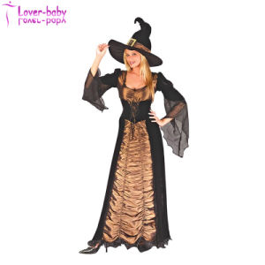 Adult Girls Sexy Witch Halloween Costume (L15528) pictures & photos