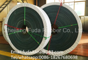 Flat Transmission Belt Green Color pictures & photos