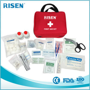 Emergency Medical First Aid Kit Bag for Travel, Outdoor, Family, Car, Hotel, School pictures & photos