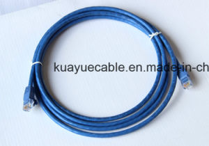 Patch Cord UTP CAT6 Blue RJ45 Cable pictures & photos