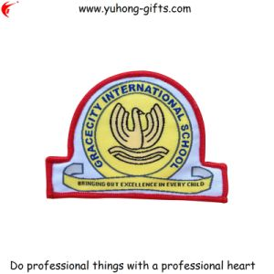 2014 New Design Customized School Uniform Woven Badge (YH-WB065) pictures & photos