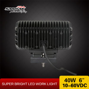 "40W 6"" Spot Flood Beam CREE LED Driving Light pictures & photos"