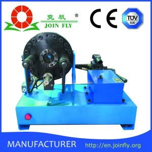 Portable Manual Hydraulic Hose Pipe Crimping Press Machine Crimper Punch (JKS160) pictures & photos