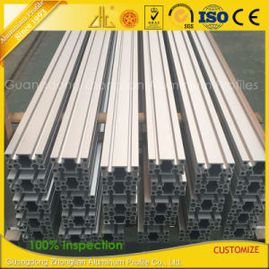 Anodized Aluminium V Slot Extrusion Profile for Exhibition/Production Line pictures & photos