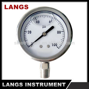 071 Factory All Stainless Steel Pressure Gauge pictures & photos