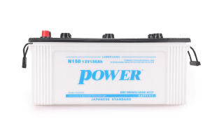 Dry Charged Rechargeable N150 150ah Lead Acid Battery pictures & photos