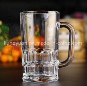 300ml Beer Glass Cup with Handle pictures & photos