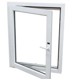 Double Plastic PVC / UPVC Sliding Glass Windows PVC Window pictures & photos