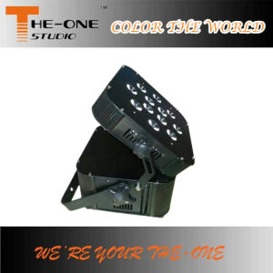 LED Wireless Battery Flat PAR DJ Light pictures & photos