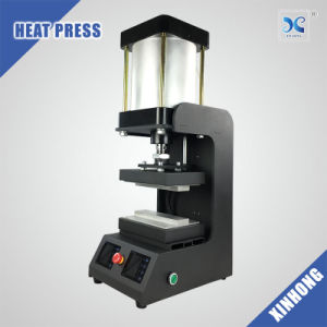 Xinhong New Arrival dual heating platens pneumatic rosin press home made pictures & photos