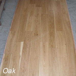 Solid Wood Flooring White Oak Hardwood Flooring Natural Color