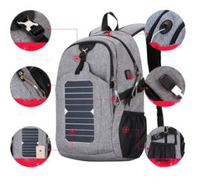 OEM High Quality Camping Outdoor Sports Travel Laptop/Computer Solar Backpack pictures & photos