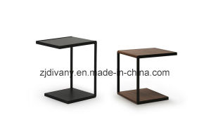 Modern Style Wooden Square Table (T-81) pictures & photos