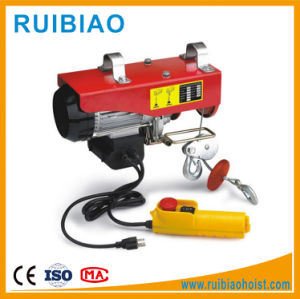 Mini Electric Wire Rope Hoist Electric Hoist pictures & photos