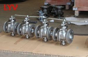 Lever Operated Trunion Ball Valve