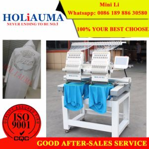 Holiauma 2017 Automatic 2 Heads Embroidery Machine pictures & photos
