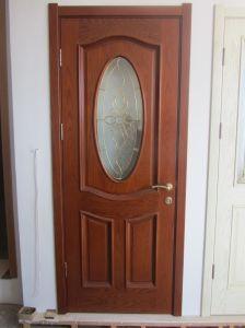 PVC Interior Wooden Door Modern Design (wooden door) pictures & photos