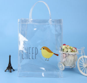 Clothing Plastic PVC Portable Gift Bag pictures & photos
