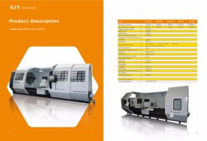 CNC Heavy Duty Lathe Sk61128 Series pictures & photos