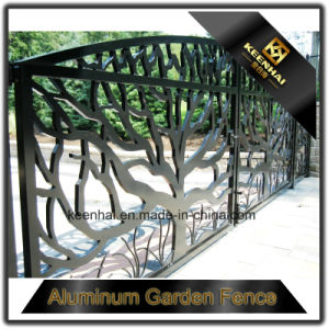 Factory Decorative Swing Aluminum House Gate Grill Design pictures & photos