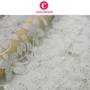 New Arrival African Tulle Lace Fabric High Quality/Tulle Embroidery Lace pictures & photos