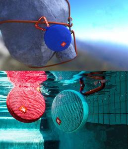 Clip Carabiner Portable Microphone Wireless Bluetooth Splash-Proof Speaker pictures & photos