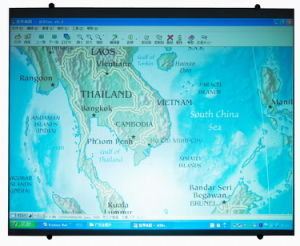 Interactive Magnetic Projection Screen pictures & photos