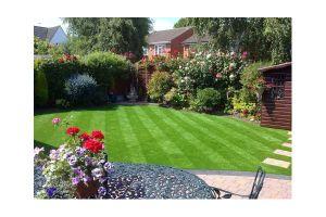 40mm Landscaping Grass, Garden Artificial Grass, Garden Decoration (L40) pictures & photos