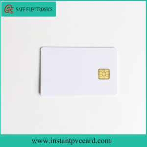 Fast Drying Inkjet Printable Sle4428 Chip PVC Card pictures & photos