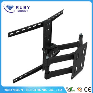 New Full Motion Corner Curved Flat Panel TV Wall Mount pictures & photos