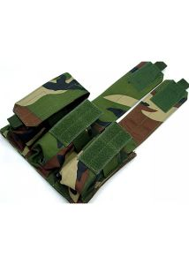 Military Airsoft Molle M4 Triple Magazine Pouch pictures & photos