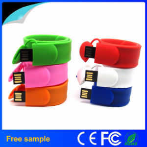 Silicone Wristband Pendrive Bracelet USB Flash Drive pictures & photos