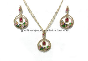 Newest Design Fashion Jewelry 925 Silver Sets (S3387CR) pictures & photos