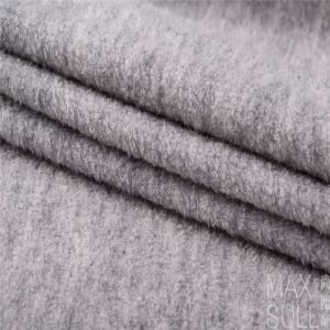 Wool /Polyester Fabric with Good Elasticity in Gray