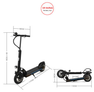 250W Foldable Two Wheel Electric Balance Scooter with Lithium Battery pictures & photos