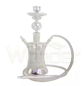 Wholesale Colorful Glass Hookahs with LED pictures & photos