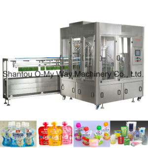Doypack Spout Pouch Capping Machine Fully Automatic Filling Machine pictures & photos