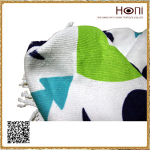 Soft Textile Round Towel, Roundie Towel, Cheap Towel pictures & photos