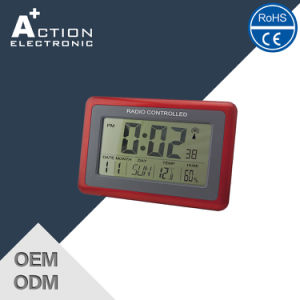 china dcf radio controlled digital wall clock with ce china wall