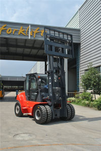 5 Ton Capacity 5000 Kgs Diesel Forklift Truck pictures & photos