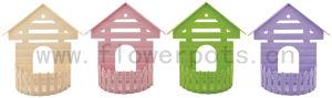 House Shape Flower Pot (KD8010) pictures & photos
