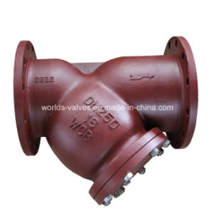 Cast Iron Y Type Strainer Manufacturer pictures & photos