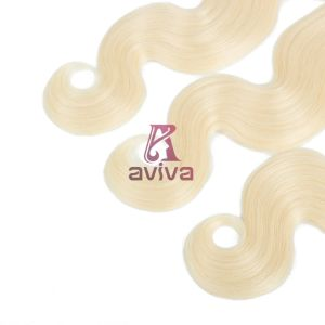 100% Virgin Hair Weave Brazilian Remy Human Hair Extension Blonde/#613 pictures & photos