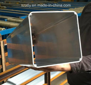 Customized 6063 Section Aluminum Extrusion Tube pictures & photos