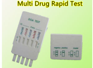 Urine One Step Diagnostic Drug of Abuse Rapid Test Kit pictures & photos