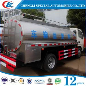 6cbm 8cbm 10cbm Stainless Steel Milk Tank Truck pictures & photos