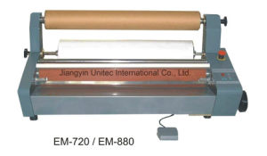 Most Selling Products Manual Cold Laminator Em-720/Em-880 pictures & photos