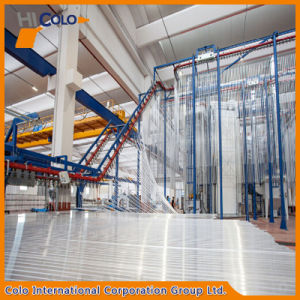 Vertical Powder Coating Plant for Aluminum Profile pictures & photos