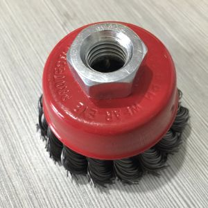 Good Quality Steel Wire Cup Brush pictures & photos